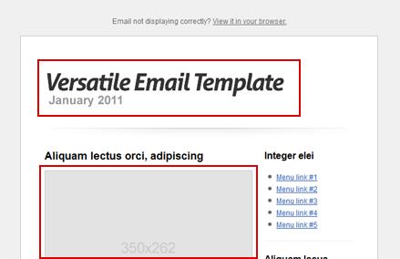 Crea tu newsletter con plantillas html para Newsletters