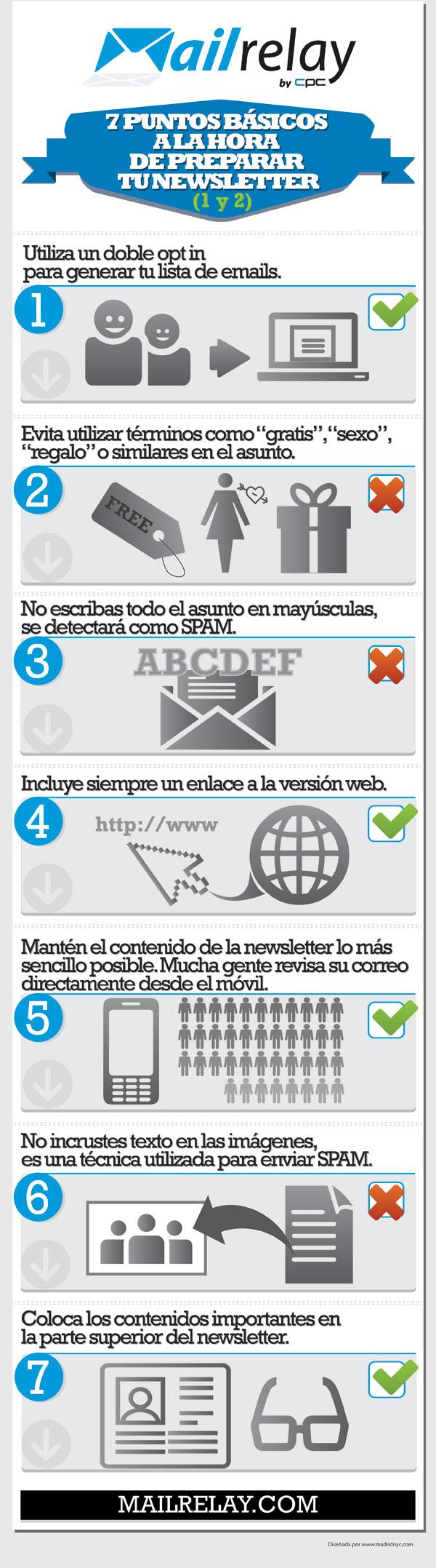 7 puntos básicos a la hora de preparar tu newsletter