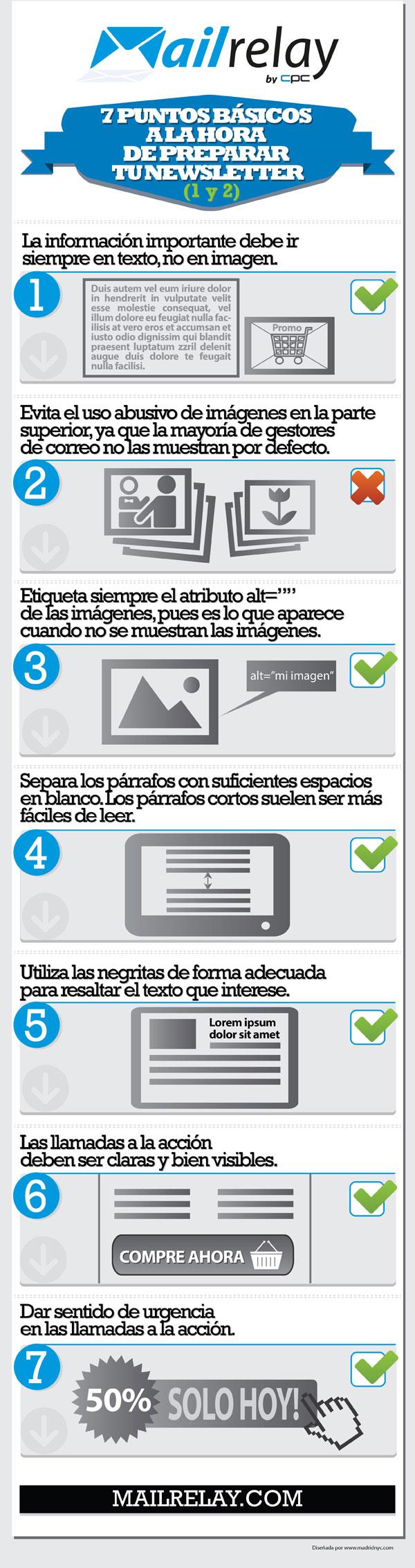 7 puntos básicos a la hora de preparar tu newsletter B