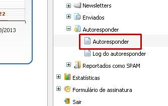 Configurando autoresponder 2