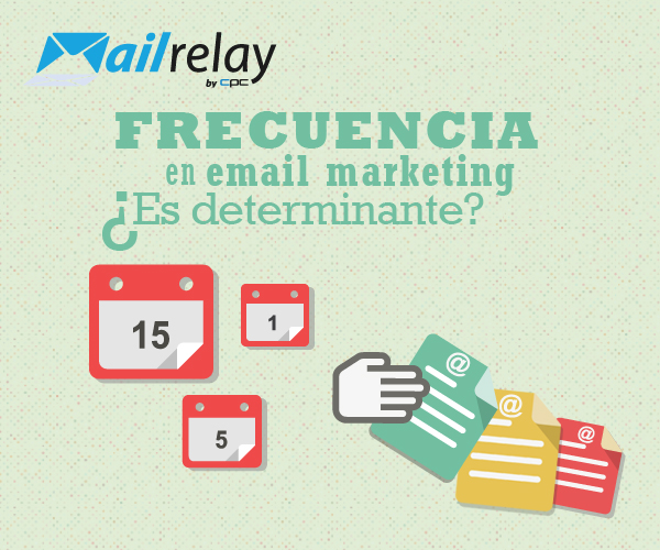 Frecuencia en email marketing