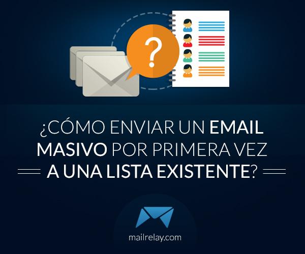 cómo enviar un email masivo
