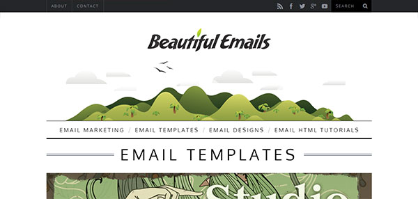 Templates html de Beautiful Emails