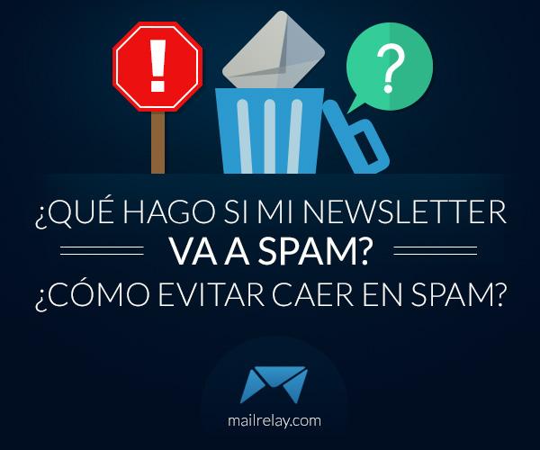 evitar caer en spam