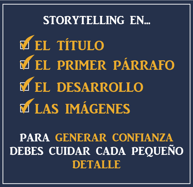 storytelling para tu estrategia de email marketing