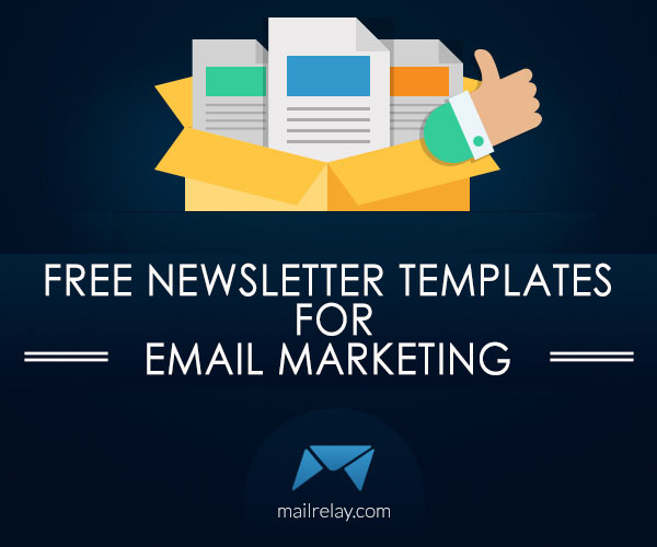 Free newsletter templates for email marketing for Free email marketing templates