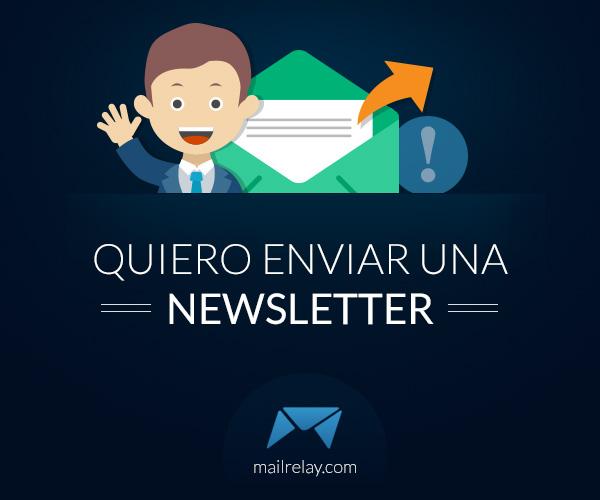 quiero enviar una newsletter