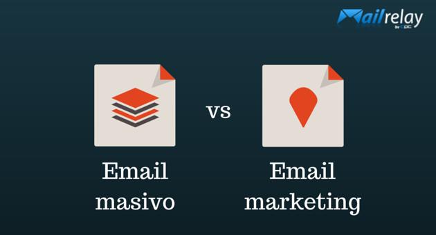email masivo vs email marketing