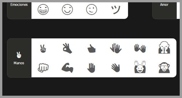 emoticones de la página Fsymbol