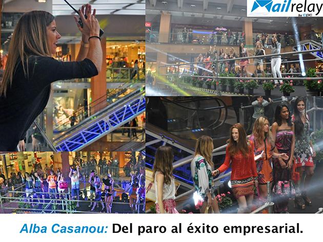 Alba Casanou, emprendedora decidió capitalizar el paro