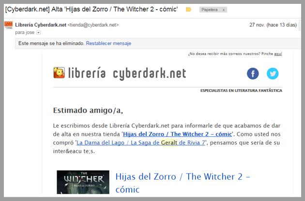 Autoresponders de cyberdark