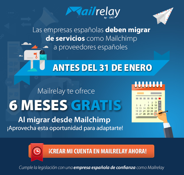 emailing con mailrelay