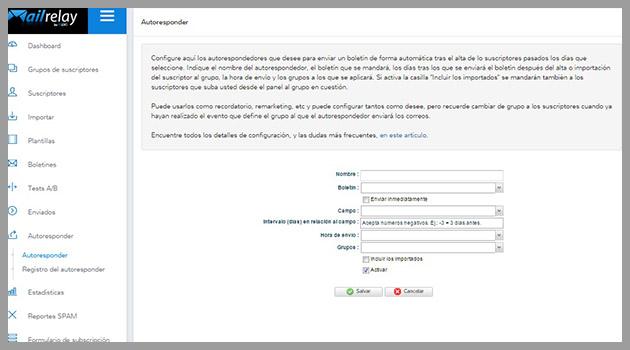 Cómo crear el autorespondedor para nuestro curso por email