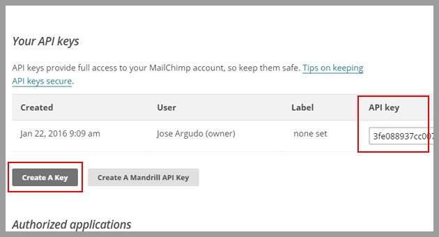 Cómo pasar los contactos de Mailchimp