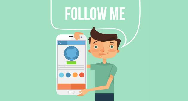 Captación en redes sociales