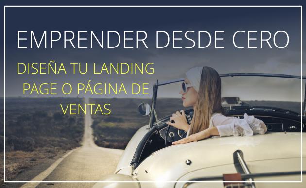 Diseña tu landing page