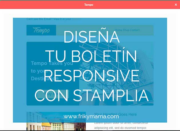 Crea email templates responsive
