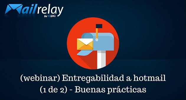 entregabilidad en el email de hotmail