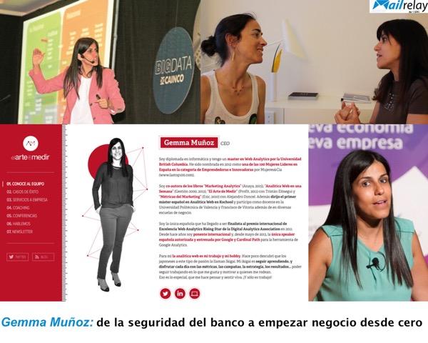 Gemma Muñoz ¡Solo mejoras, si mides!