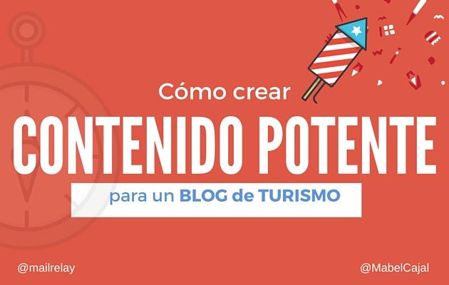 crear contenido para un blog de turismo