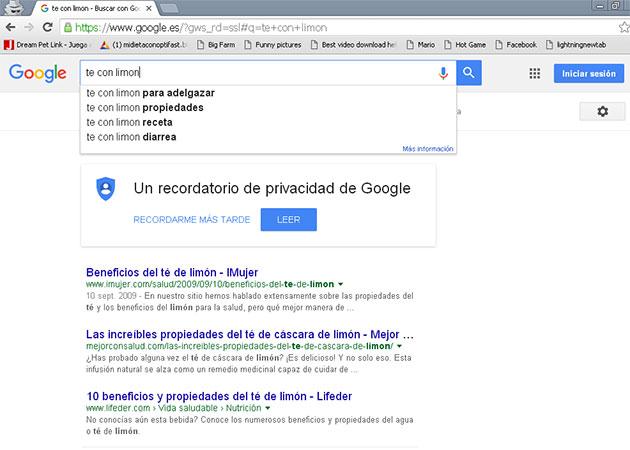 Buscador de google como herramientas SEO
