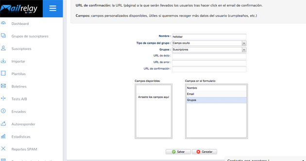 Creando formularios personalizados