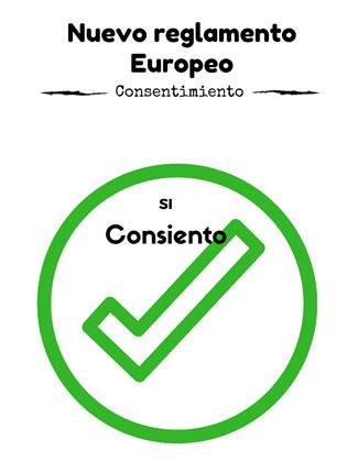 Asegúrate de tener el consentimiento con el nuevo reglamento europeo de protección de datos
