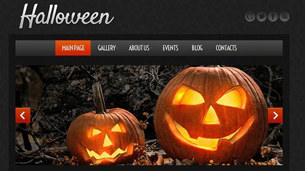 Tema Hallowen para tu web