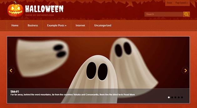 SM Themes Halloween es una plantilla gratuita