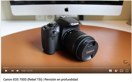 Haz reviews en Youtube de tus productos