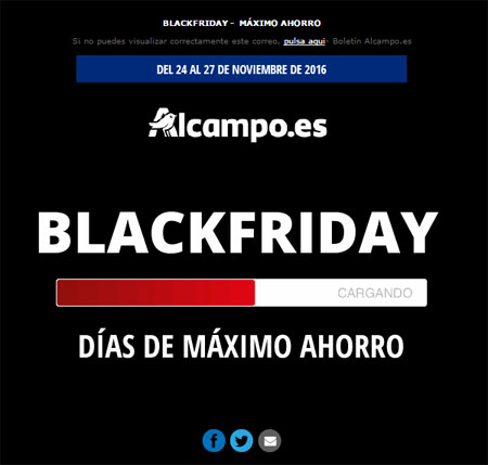Alcampo Blackfriday