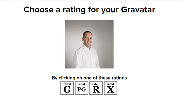 rating gravatar