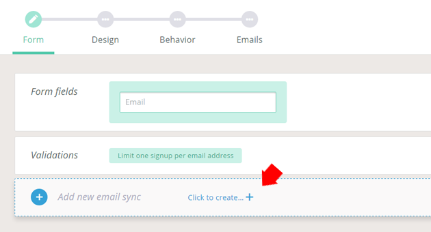 privy add new email sync