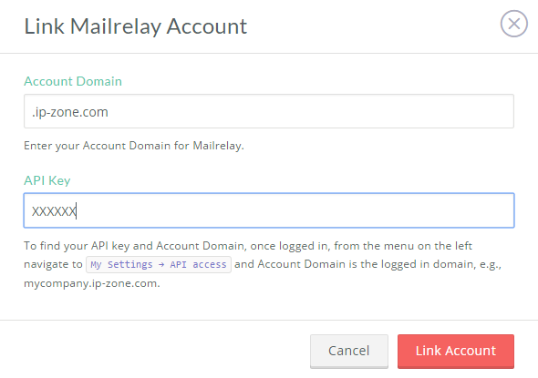 link privy with Mailrelay