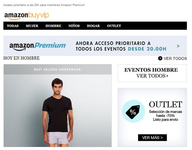 newsletter de amazon