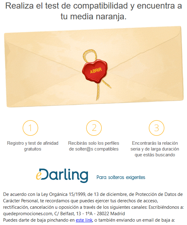 newsletter edarling