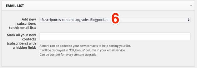content upgrades 6