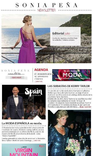 ejemplo newsletter de moda 2
