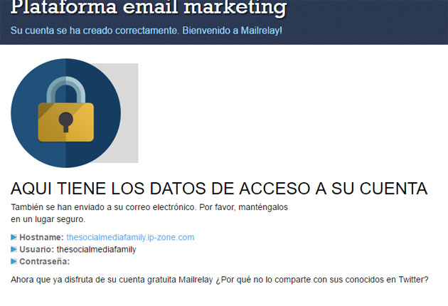 enviar newsletter con Mailrelay