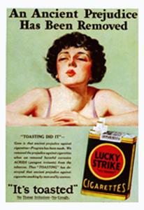 marketing de guerrilla lucky strike