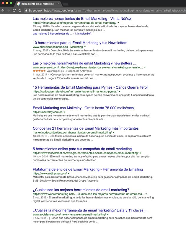 posicionar páginas en google