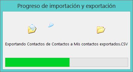 exportar contactos desde outlook