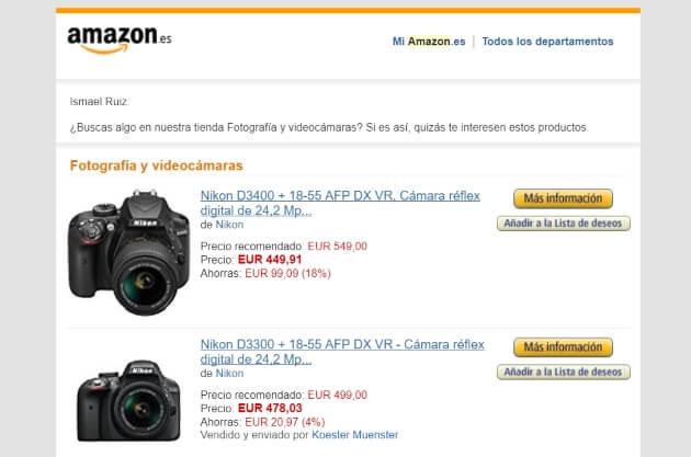 chatbot de Amazon