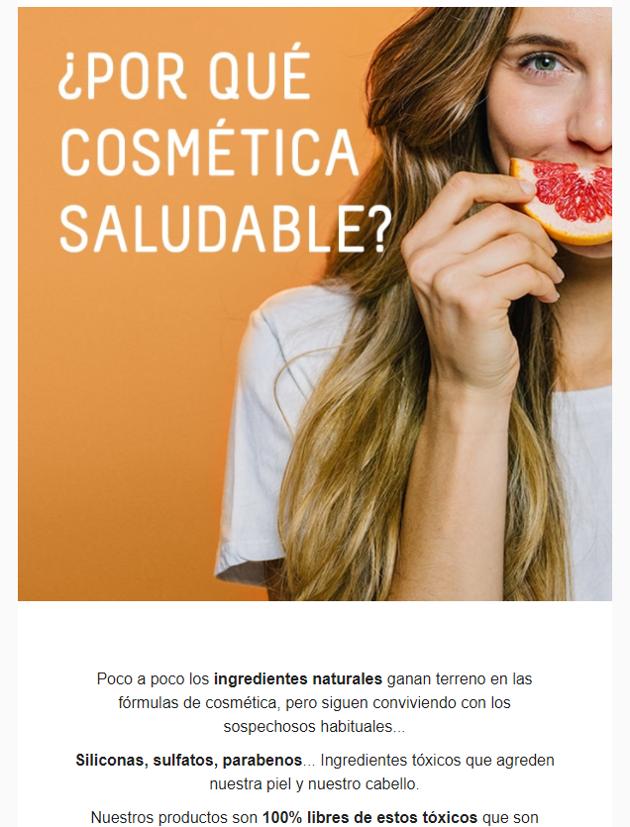 cosmética saludable