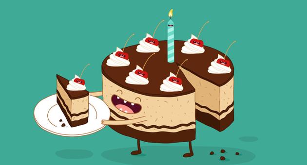 newsletters felicitación de cumpleaños
