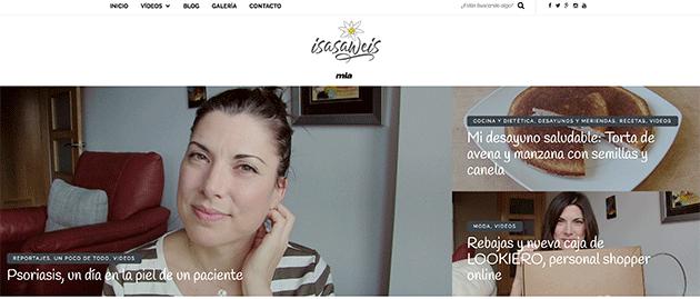 videoblog de cocina y belleza