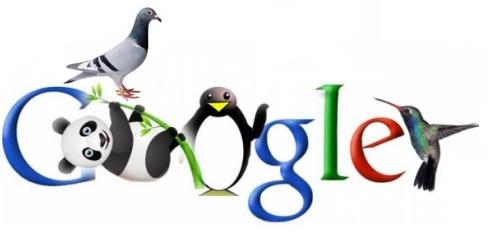 algoritmo Local Paloma (Pigeon), Google Zarigüeya (Possum) y Halcón (hawk)