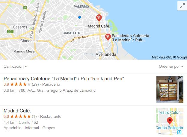Google utiliza Google Pigeon para esto
