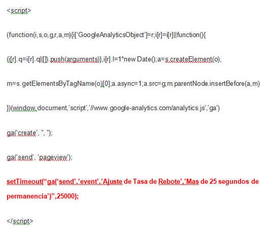 código analytics