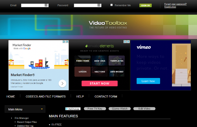 Vídeo Toolbox